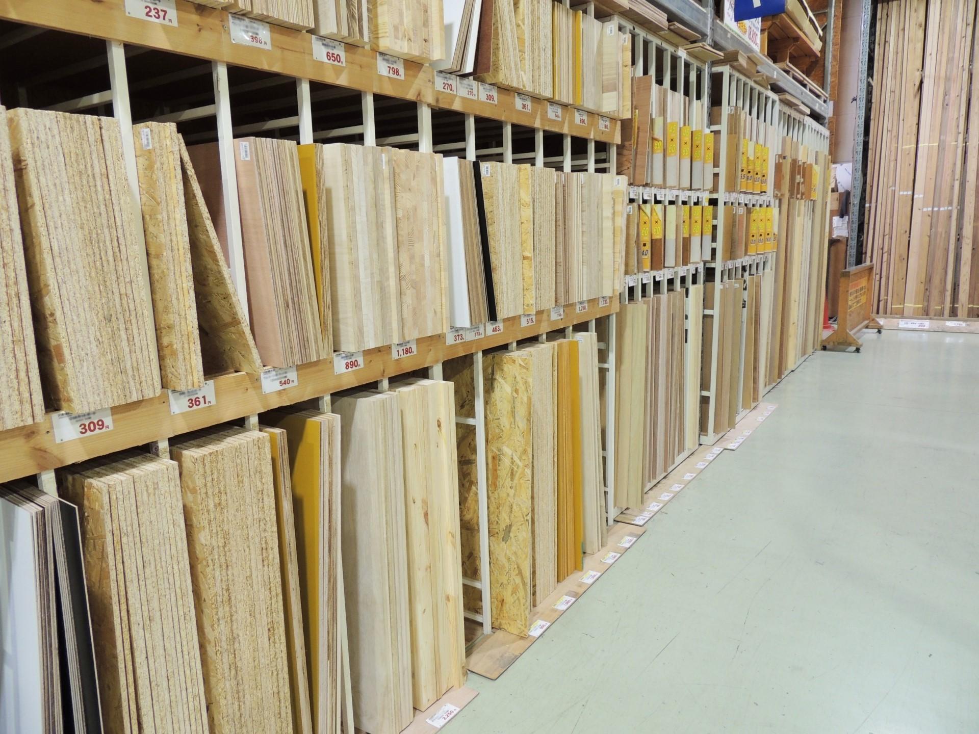 木材の種類によって気をつけること